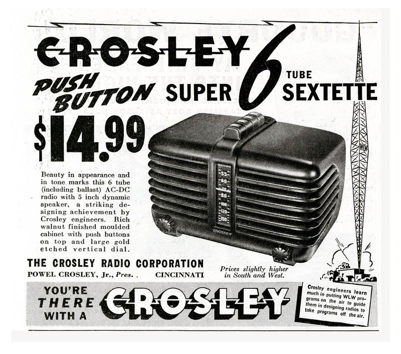 Crosley 1938