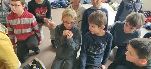 Le planétarium itinérant à l'École !