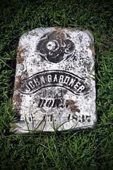 JOHN GARDNER MONUMENT