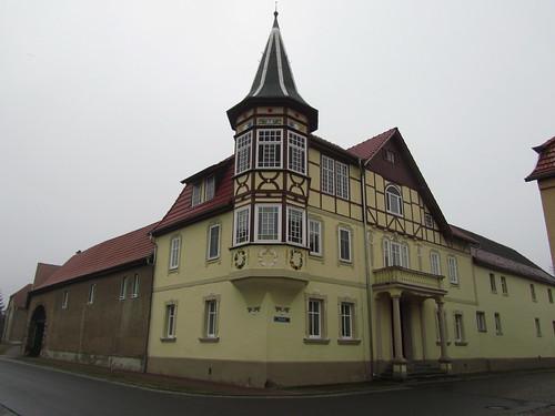 20100317 0204 015 Jakobus Rudersdorf Straße Hausfassaden