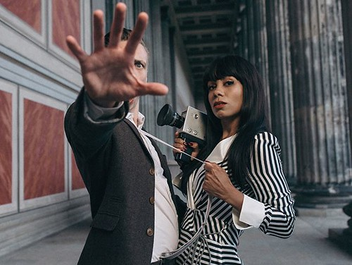 Die Aufnahme #happyreleaseday @jadulaciny #Jadu #NachrichtvomFeind #newalbum #presspictures #pressphotos #pressefotos check youtube for the #newmusicvideo #releasedtoday #iamjohannes
