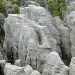 Rock Formation, New Zealand by John J Fogarty