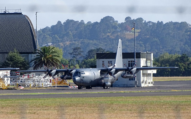 RNZAF Lockheed C-130H Hercules NZ7002