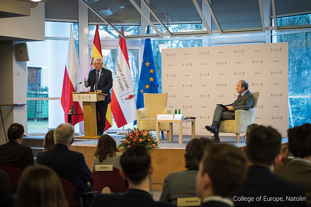 High-level lecture by Mr Josep BORRELL, Spanish Minister of Foreign Affairs, the European Union and Cooperation. 19 March 2019