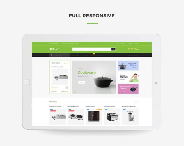 Ap Bosch Best Prestashop Kitchen Theme - Fully responsive