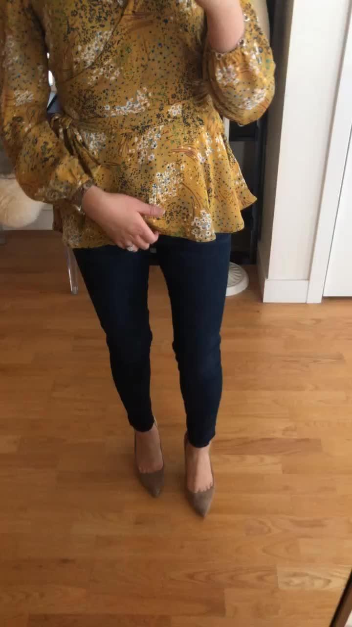 LOFT Modern High Waist Skinny Jeans in Luxe Dark Wash, size 25/0P