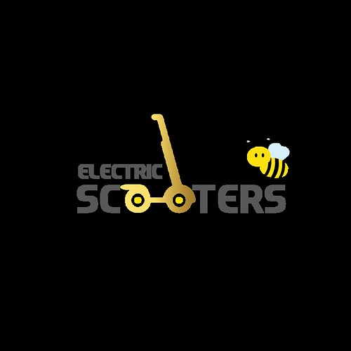 Electric scooters logo design