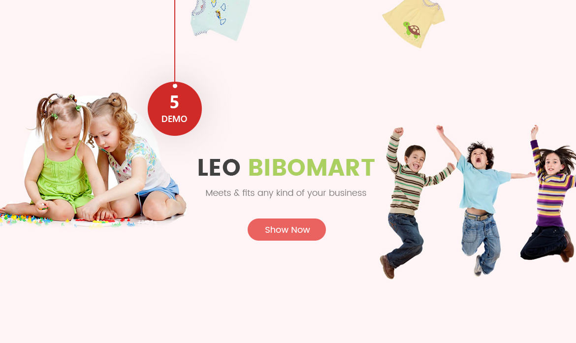 Leo Bibomart Prestashop theme for Baby and Kid Store