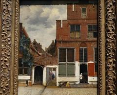 Vermeer, View of Houses in Delft, ca. 16670; Rijksmuseum, Amsterdam (3)
