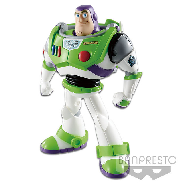 Banpresto COMICSTARS 系列 皮克斯角色【巴斯光年】ピクサーキャラクターズ Buzz Lightyear 通常色彩/特別色彩