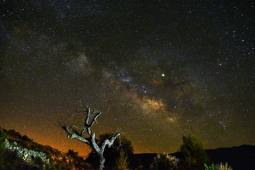 Otrotro año más el centro galáctico empieza ha ser visible.