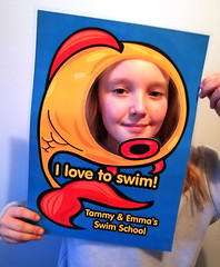 Photo Board for local Swim School