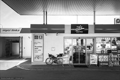 Czech Gasoline Station