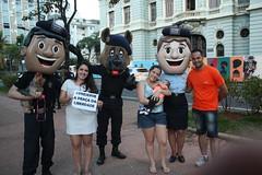 Guarda Municipal promove ação na Praça da Liberdade