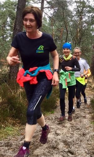 Spado marathon loopgroep in actie