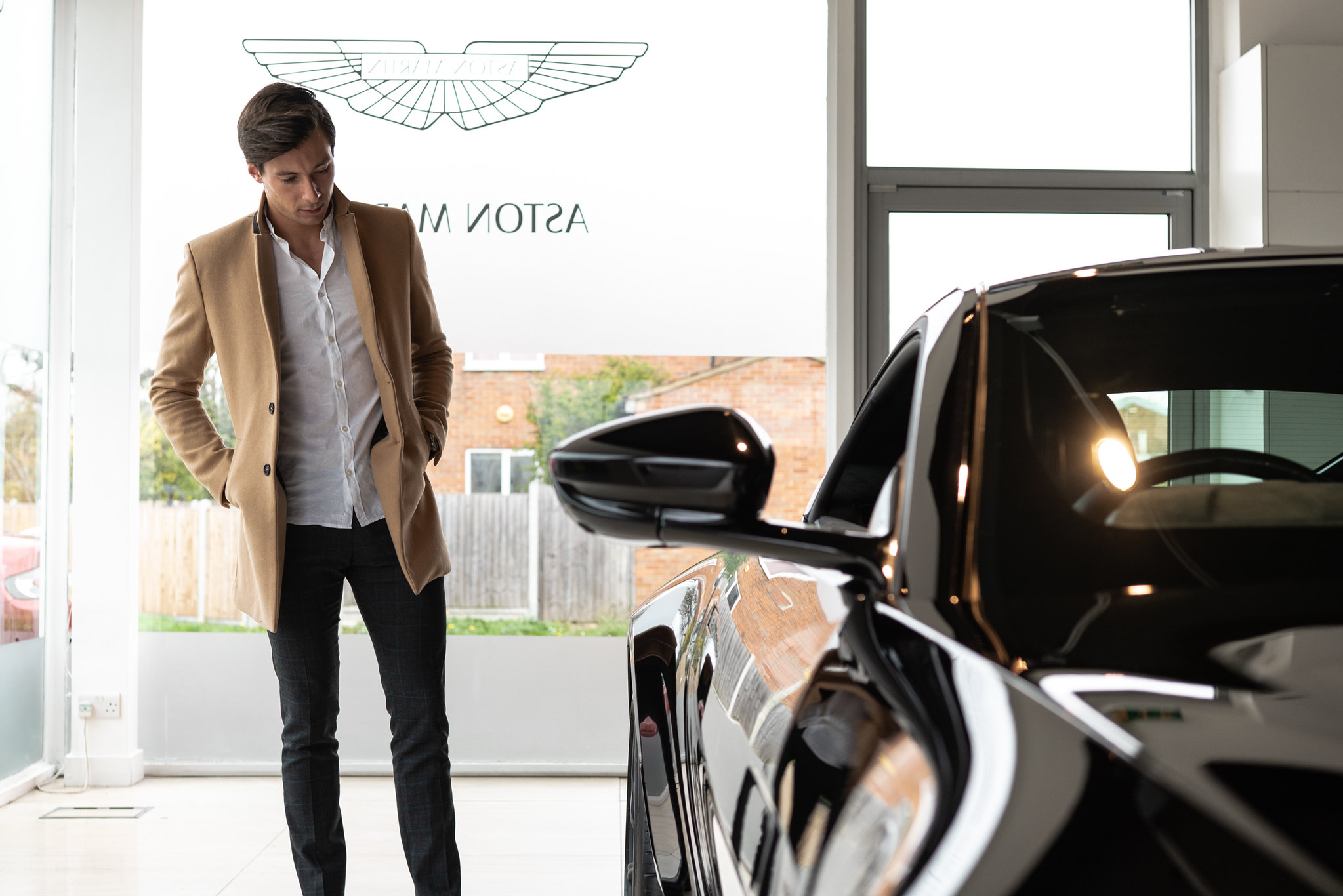 Alex Lynn - Aston Martin Racing Driver at Aston Martin Brentwood