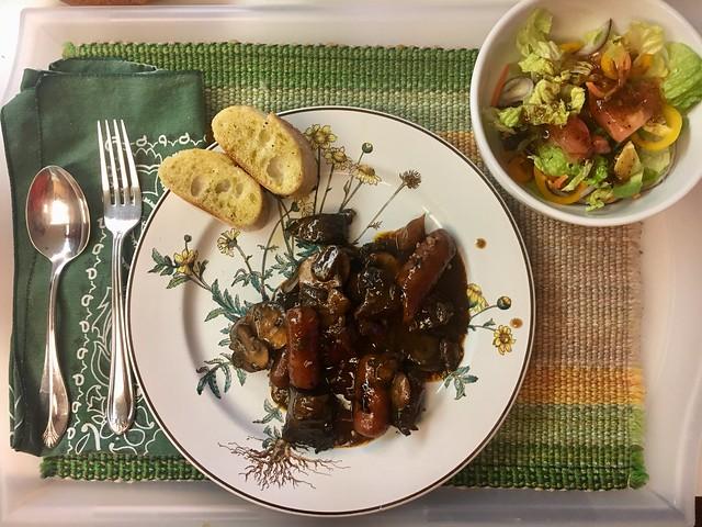 Crouton's Easy Beef Bourguignon