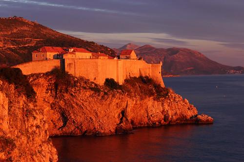 End of Summer in Kings Landing - Sunset in Dubrovnik, Croatia