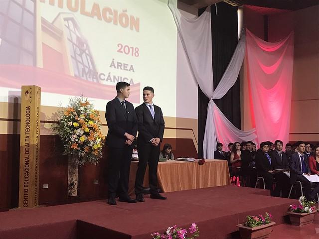 Titulación Área Mecánica 2018