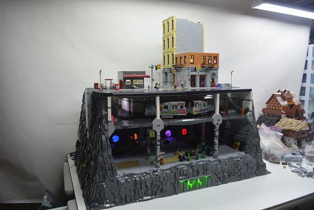 LEGO WIP Teenage Mutant, Nikon D5200, AF-S DX VR Zoom-Nikkor 18-55mm f/3.5-5.6G