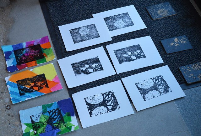 Social Justice Print Making Teacher Workshop