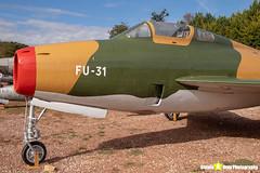 BA08-FU-31---52-7178---Belgian-Air-Force---Republic-F-84F-Thunderstreak---Savigny-les-Beaune---181011---Steven-Gray---IMG_5239-watermarked
