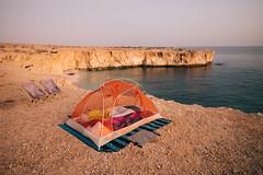 Second free campsite, Oman