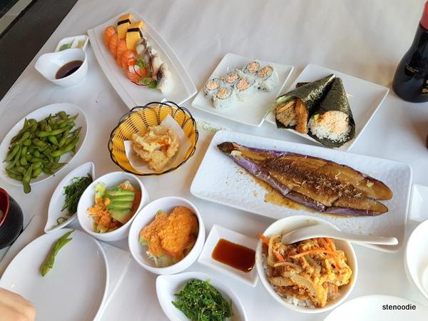 En Sushi items