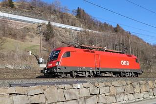 ÖBB 1116 134-7 Stromabnehmerschaden, Matrei am Brenner