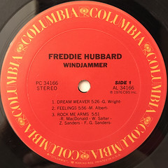 REDDIE HUBBERD:WINDJAMMER(LABEL SIDE-A)