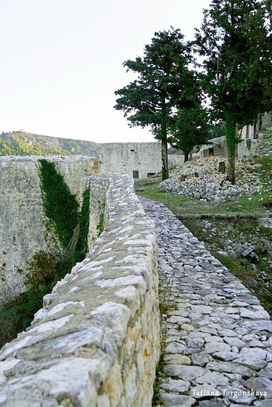 Вид от крепостной стены