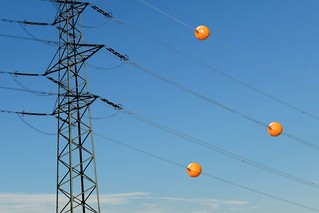 Powerline-aerial-marker-ball