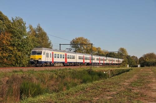 SNCB 407 Linkhout 13.10.2018