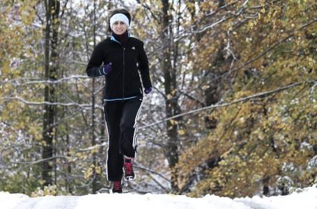TRÉNINK: Jak běhat při sněhové kalamitě