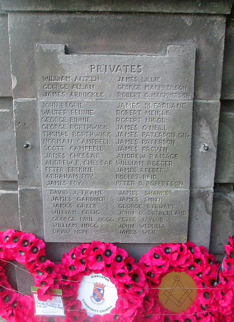 Kirkliston War Memorial 3