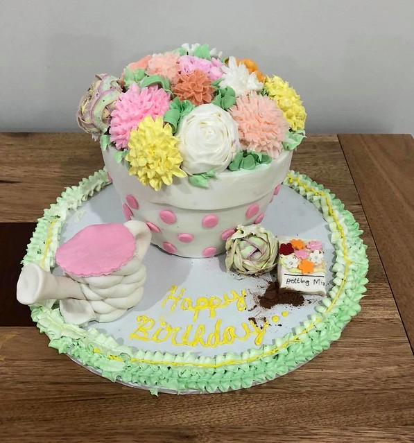 Pot Cake by Cakes 4 Occasions