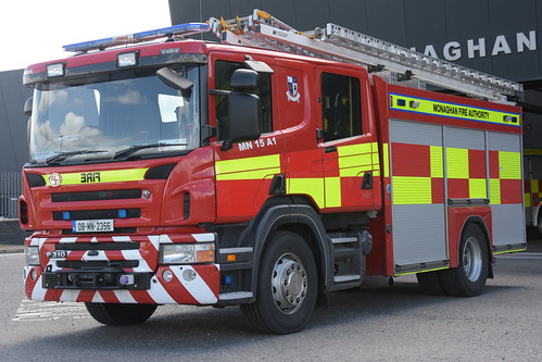 Monaghan Fire Authority 2008 Scania P310 Sidhean Teo WrL 08MN2356