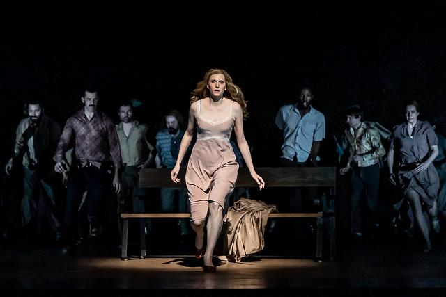 Amanda Majeski as Katya Kabanova in Katya Kabanova, The Royal Opera © 2019 ROH. Photograph by Clive Barda
