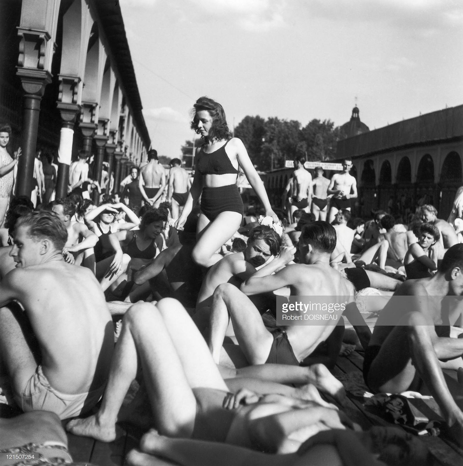 Плавательный бассейн в Париже