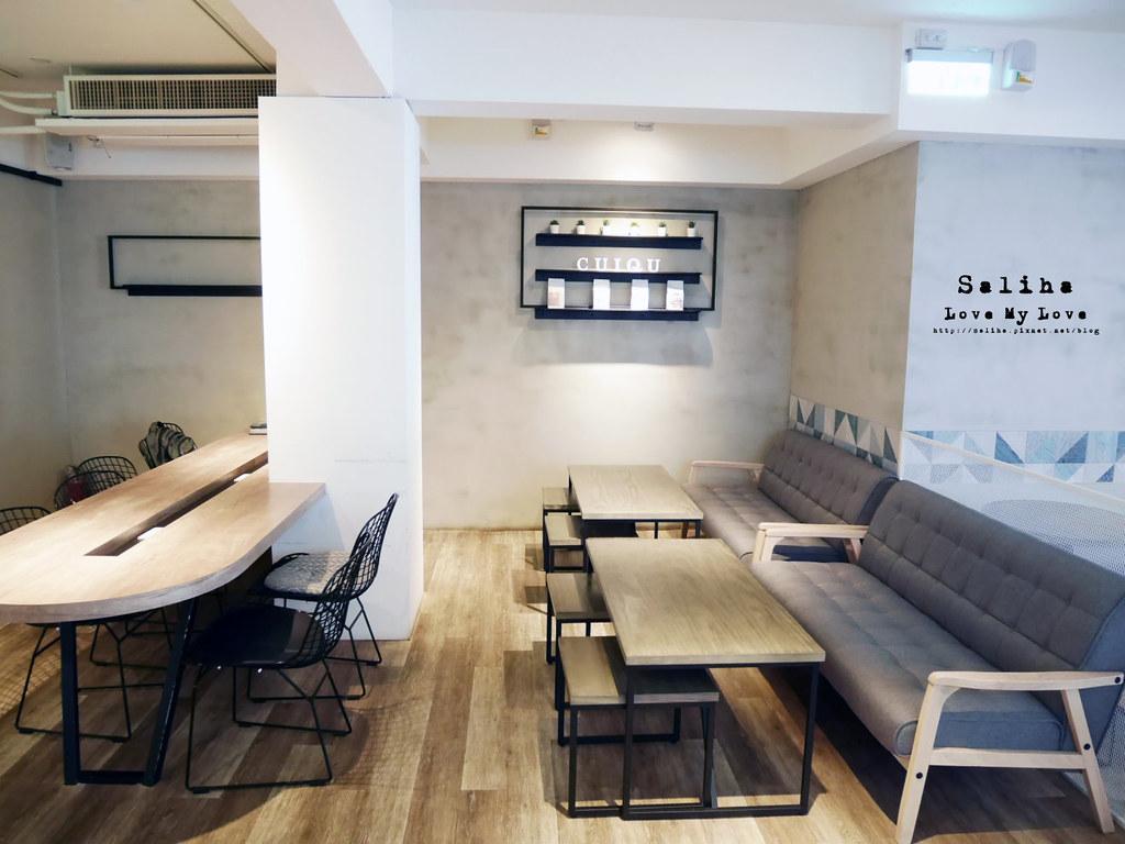 東區不限時咖啡廳餐廳推薦Cuiqu Coffee奎克咖啡台北忠孝店下午茶早午餐輕食 (4)