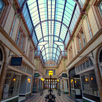 Inside Miller Arcade at Preston