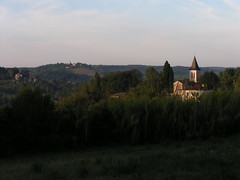 20080917 38500 1018 Jakobus Feld Wald Hügel Kirche - Photo of Sainte-Alauzie