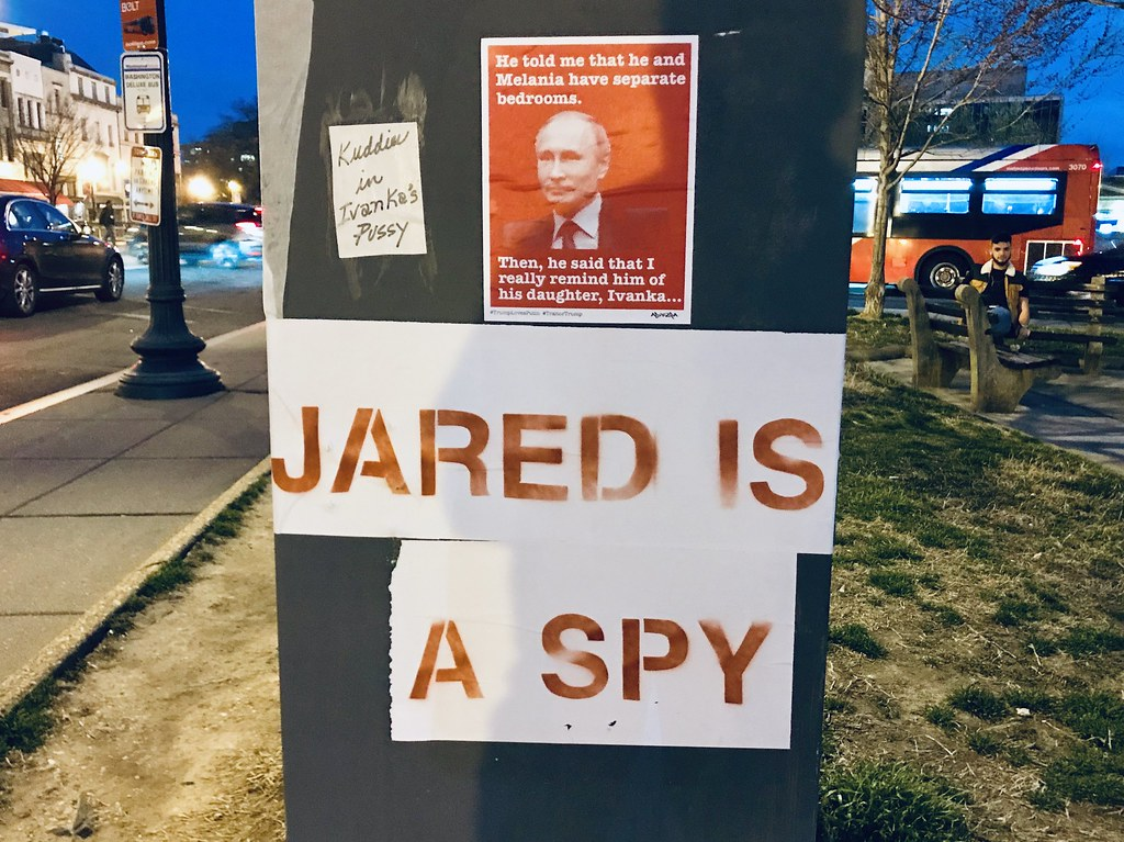 Jared is a spy