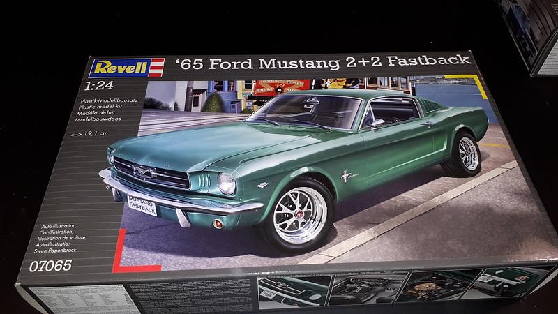 Revell 1965 Mustang 2+2