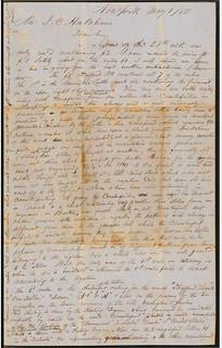 1850 Henry Foote Manuscript