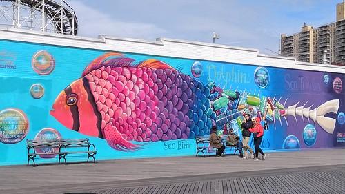Aquarium Mural I
