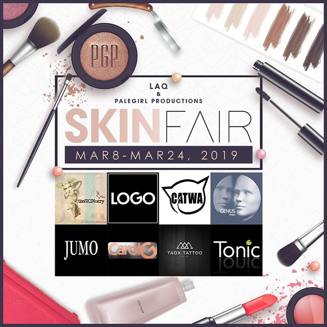 Skin Fair 2019 Poster with Partner & Sponsors