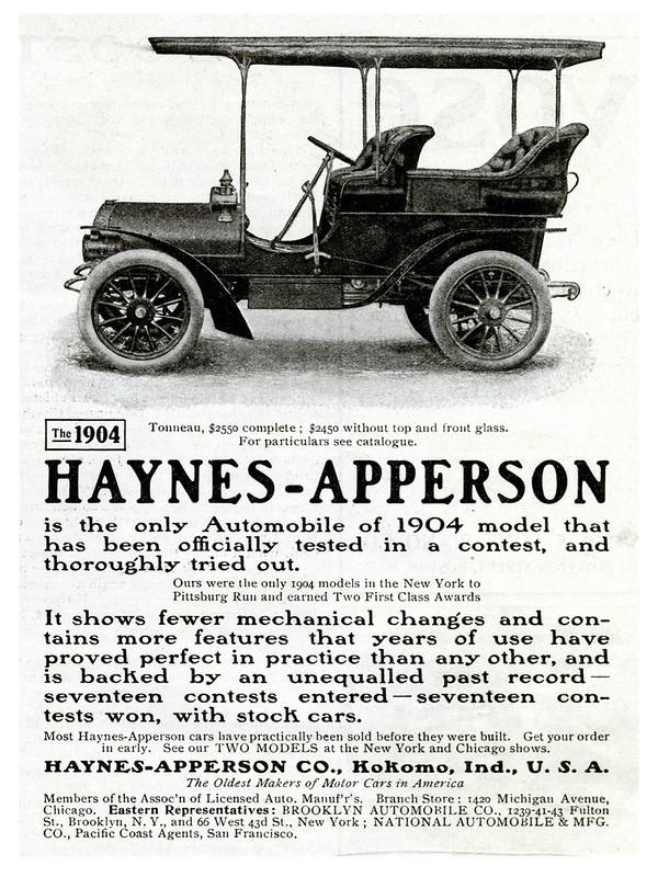 1904 Haynes-Apperson