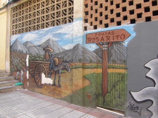 Mural, Rosarito  Fruit and Vegetable Store.