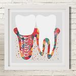 Tooth Art Implante Close Branco